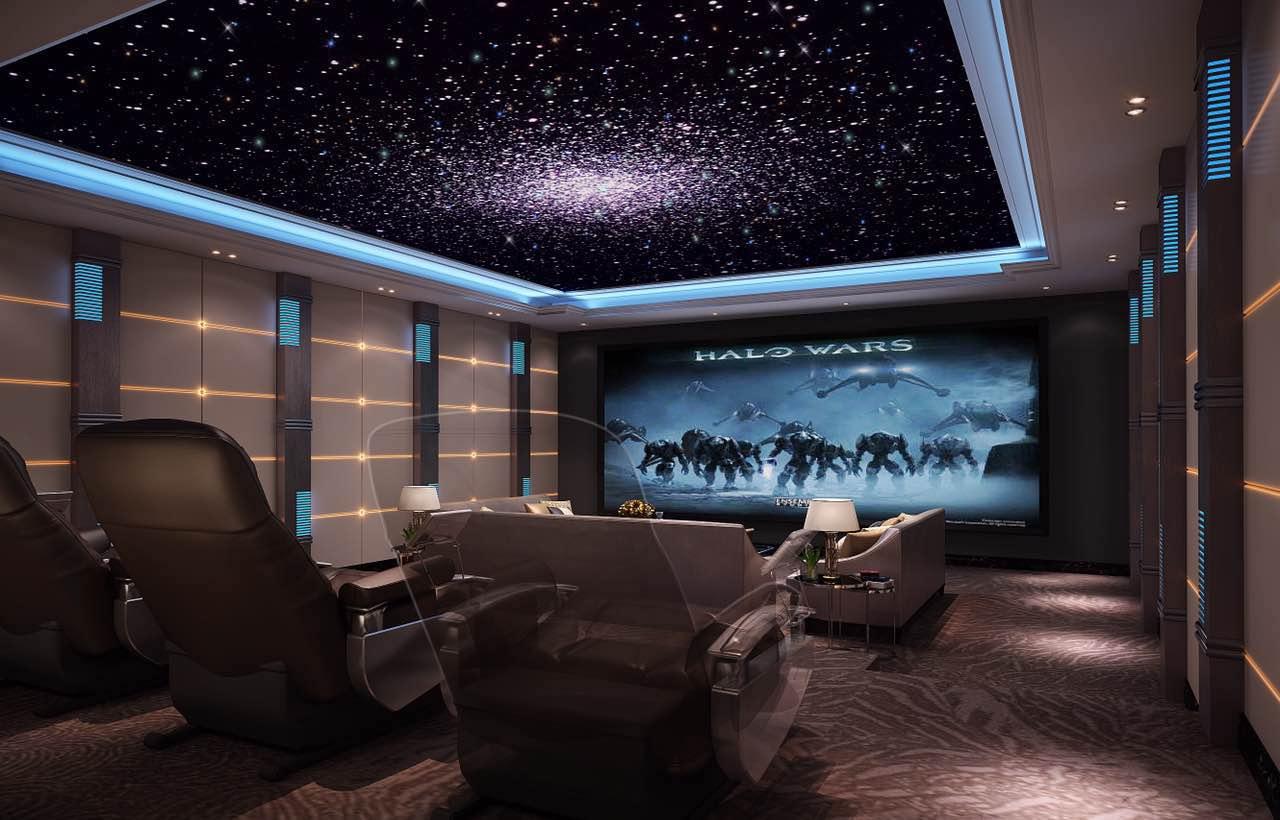 私人家庭影院装修设计效果图