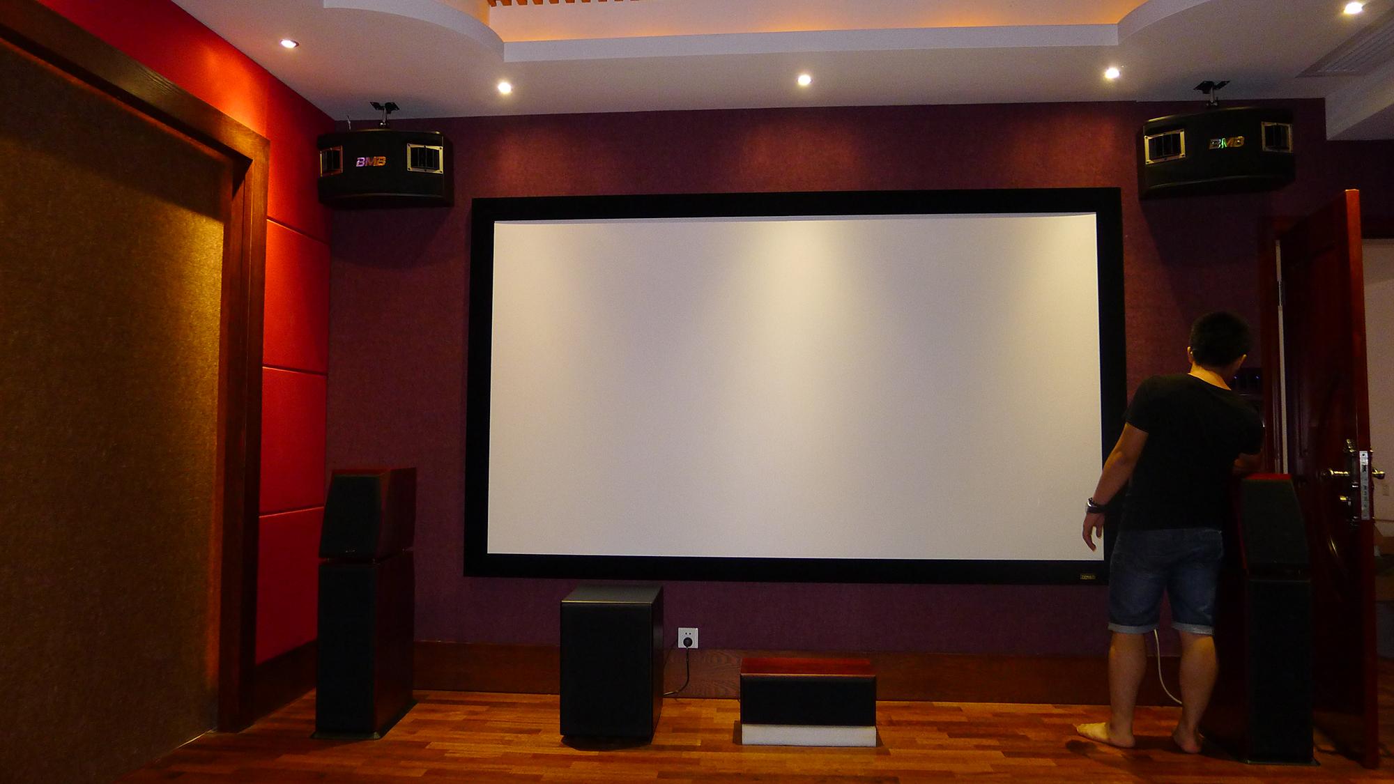 家庭影院KTV装修设计案例