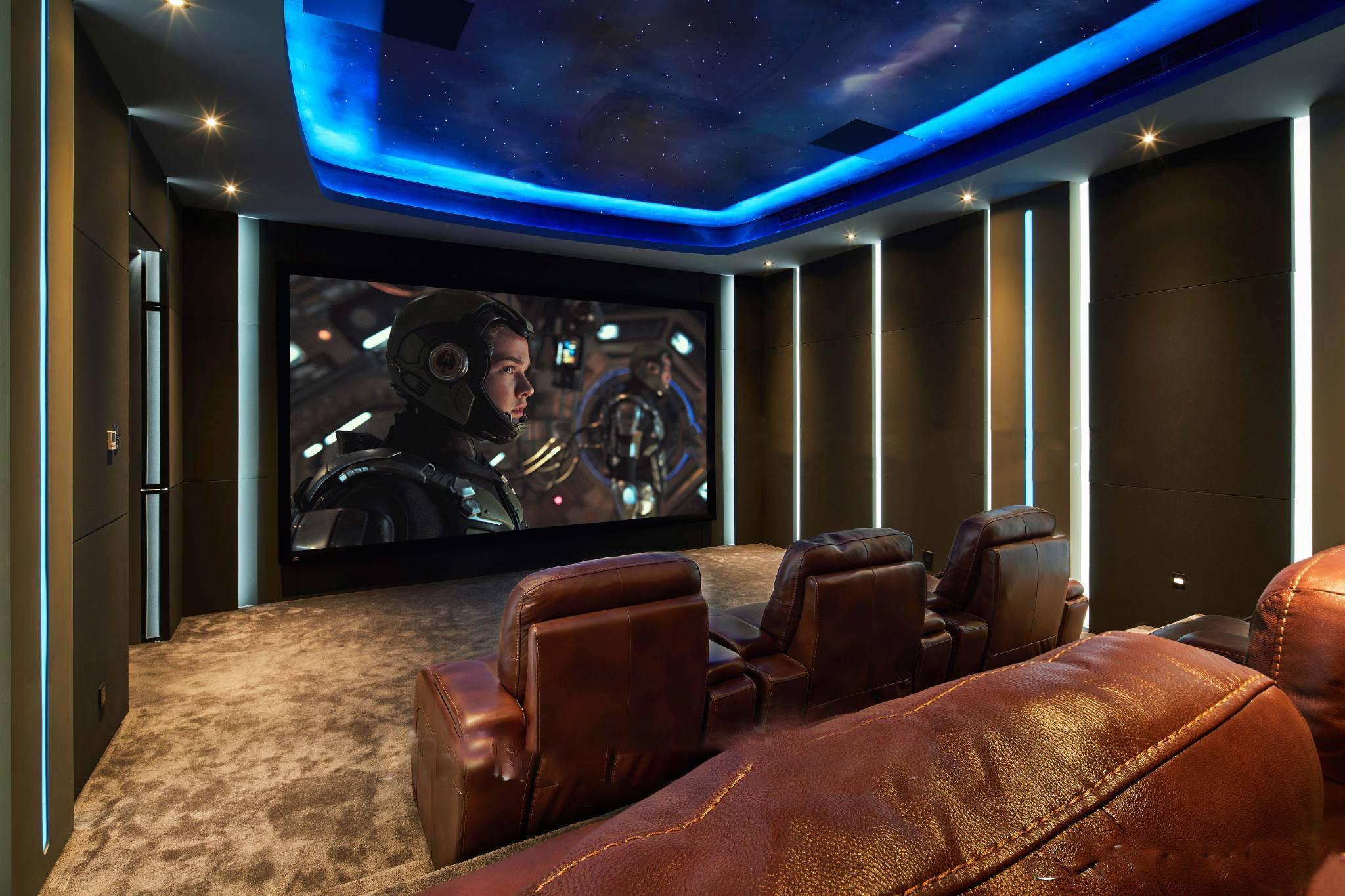 保利西海岸星际迷航家庭影院声光学装修设计案例