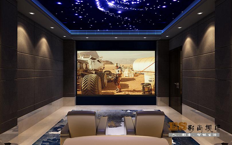 家庭影院装修设计效果图