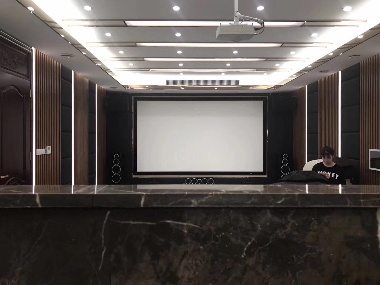 佛山水悦龙湾全景声7.2.4家庭影院KTV装修设计案例