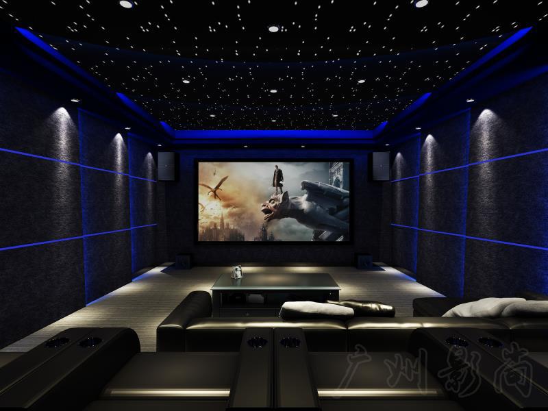 小型私人影院