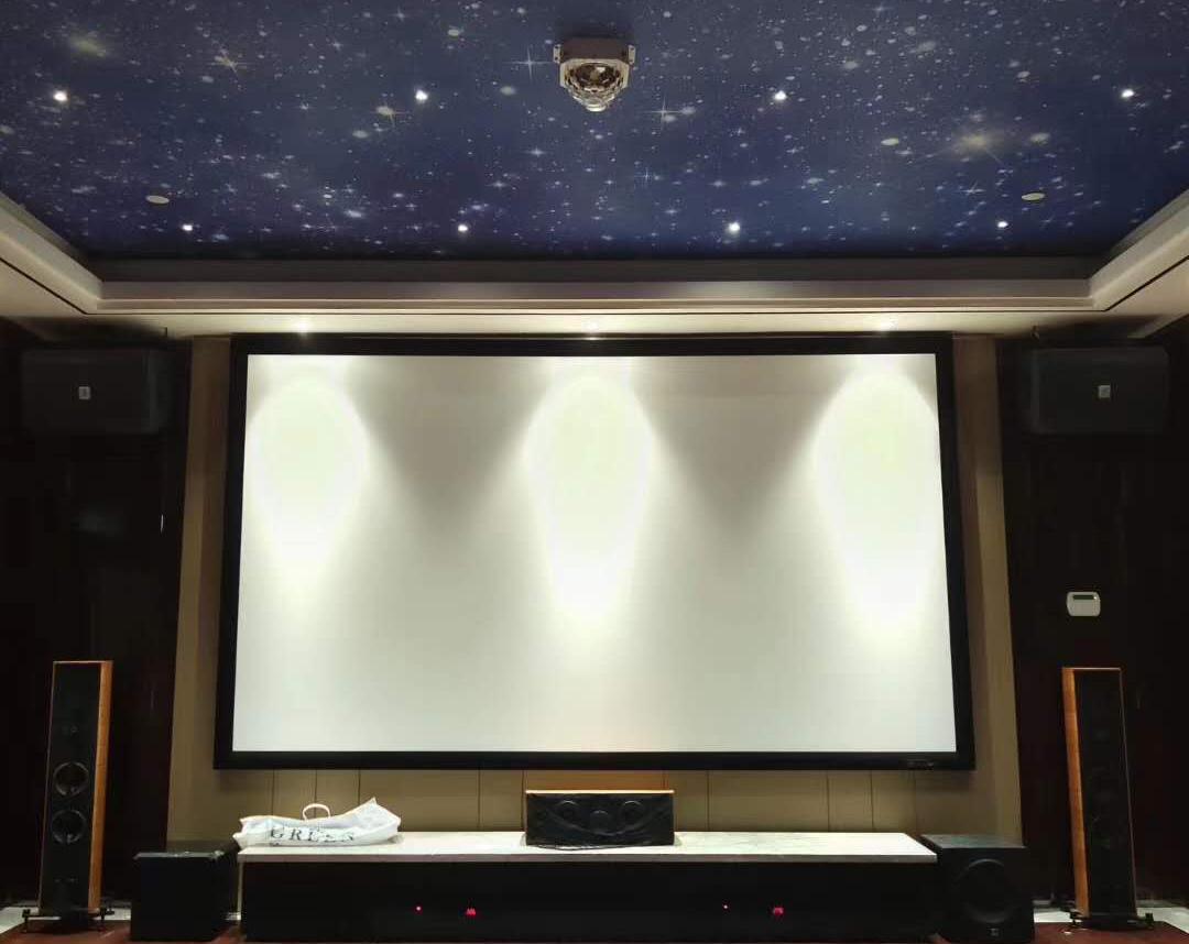 星汇云锦35平方家庭影院卡拉OK系统一体化案例