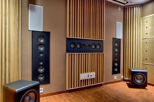 家庭影院音箱安装