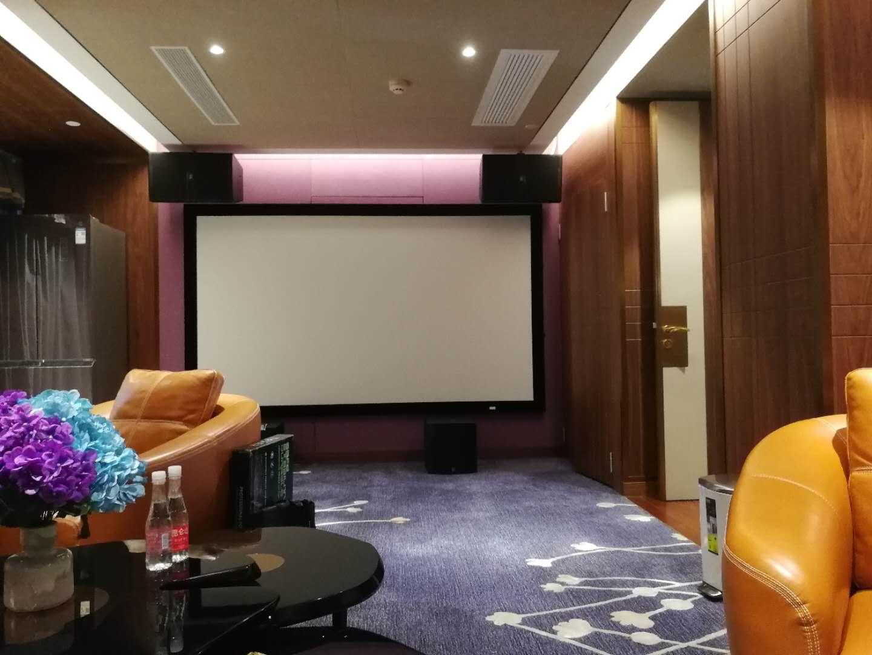 珠江新城天銮家庭影院卡拉OK系统安装案例