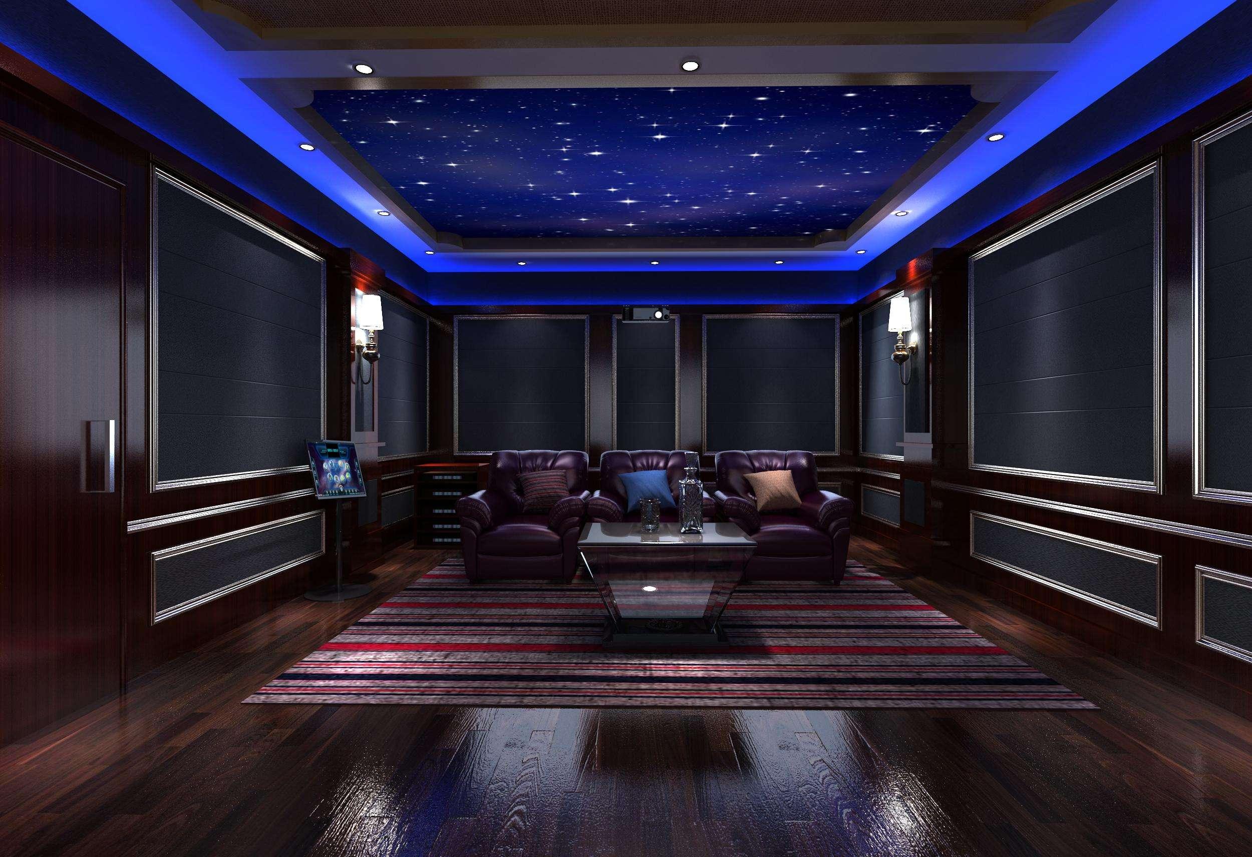 别墅地下室最佳用途,如何打造别墅里的地下室家庭影院