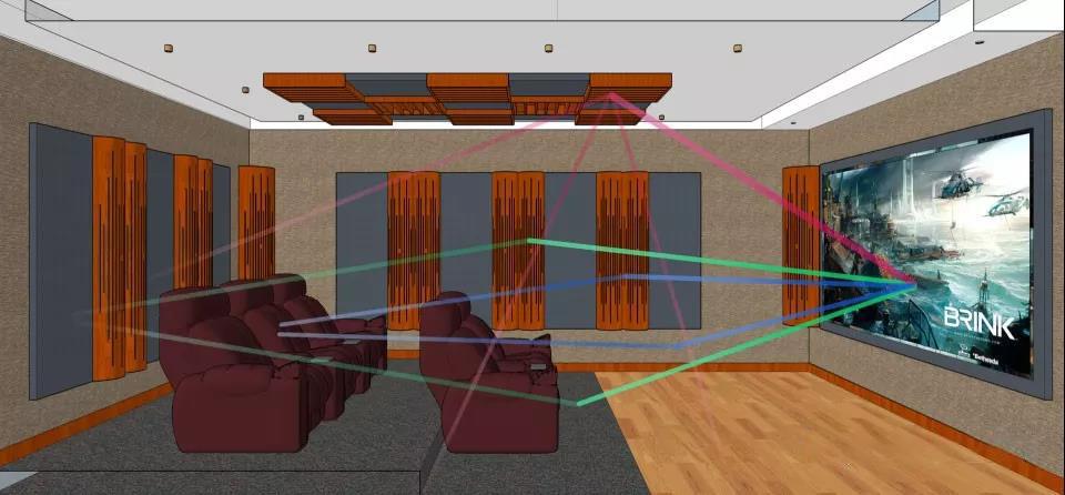 家庭影院设计常见的几大误区
