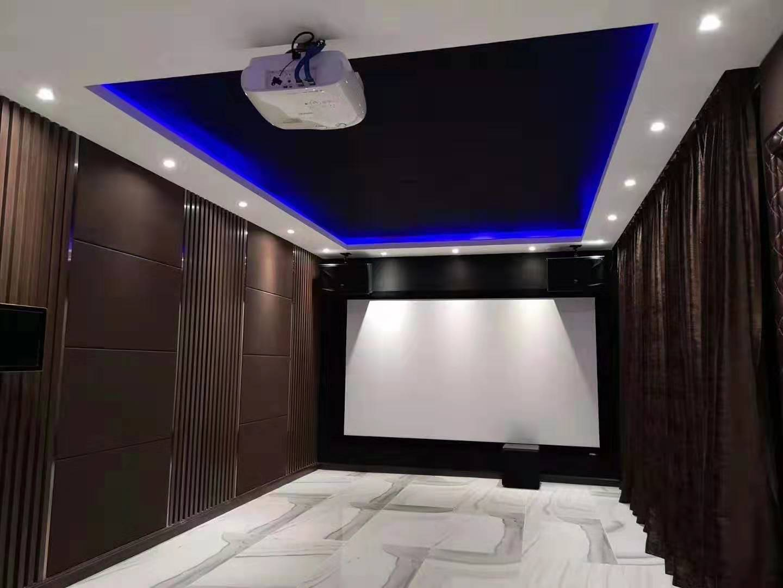 家庭影院卡拉OK娱乐室装修设计效果图