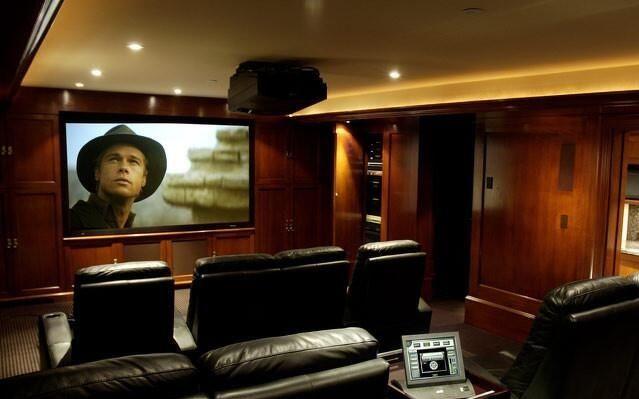 顶级私人家庭影院效果图