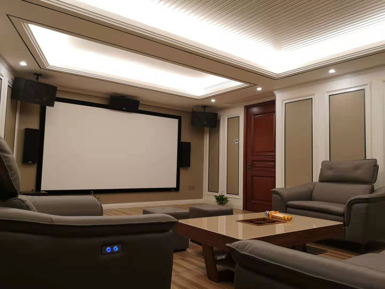 广州中海原上别墅全景声5.1.2私家影院案例