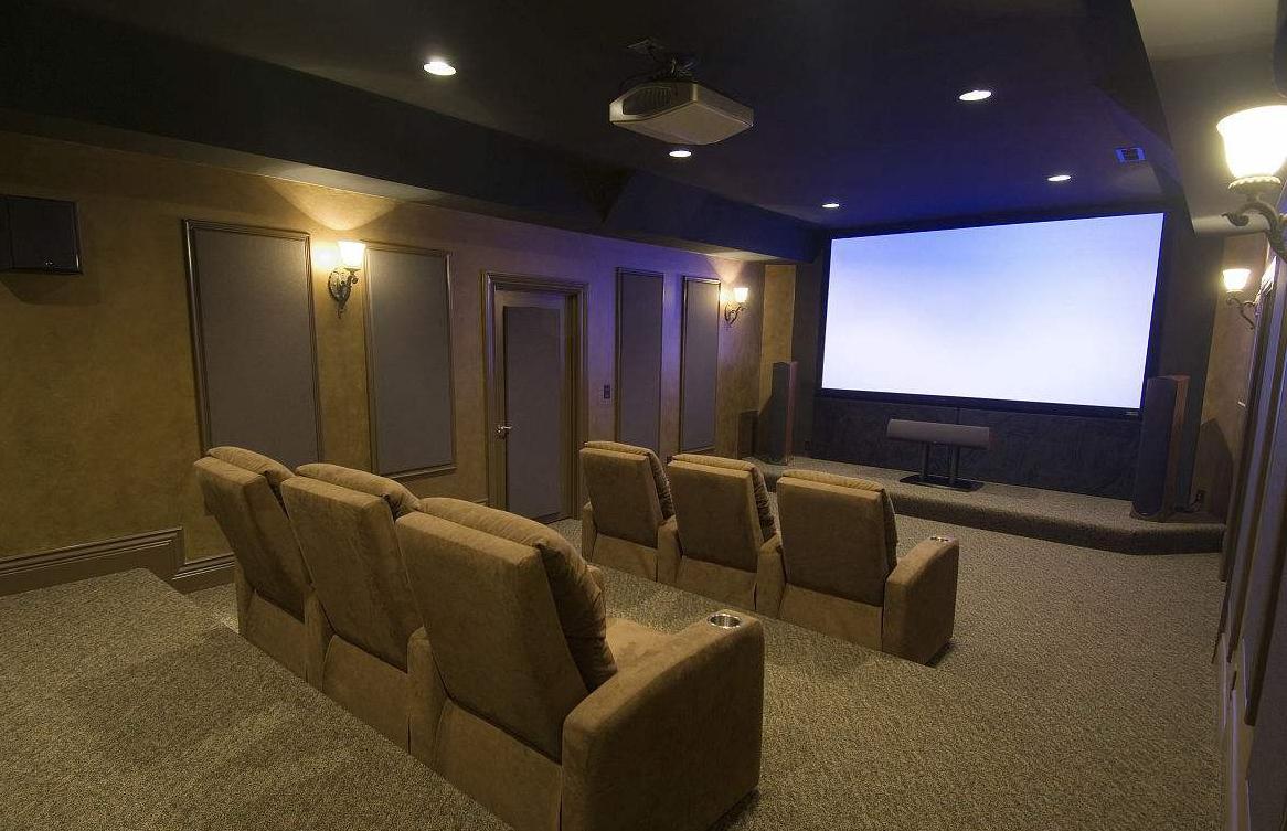 家庭影院视听室装修设计