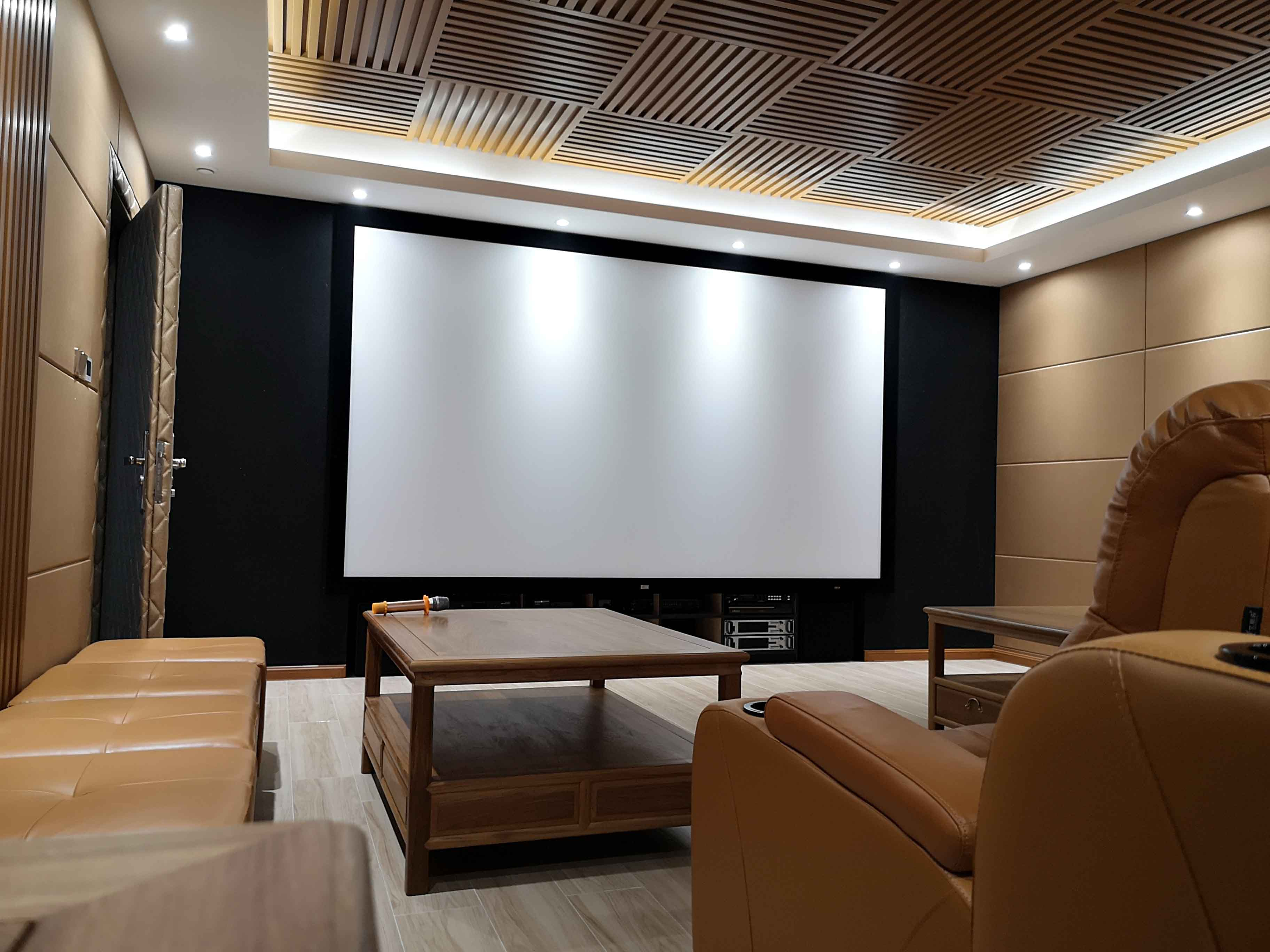 广州锦林山庄高清3D私家影院案例分享