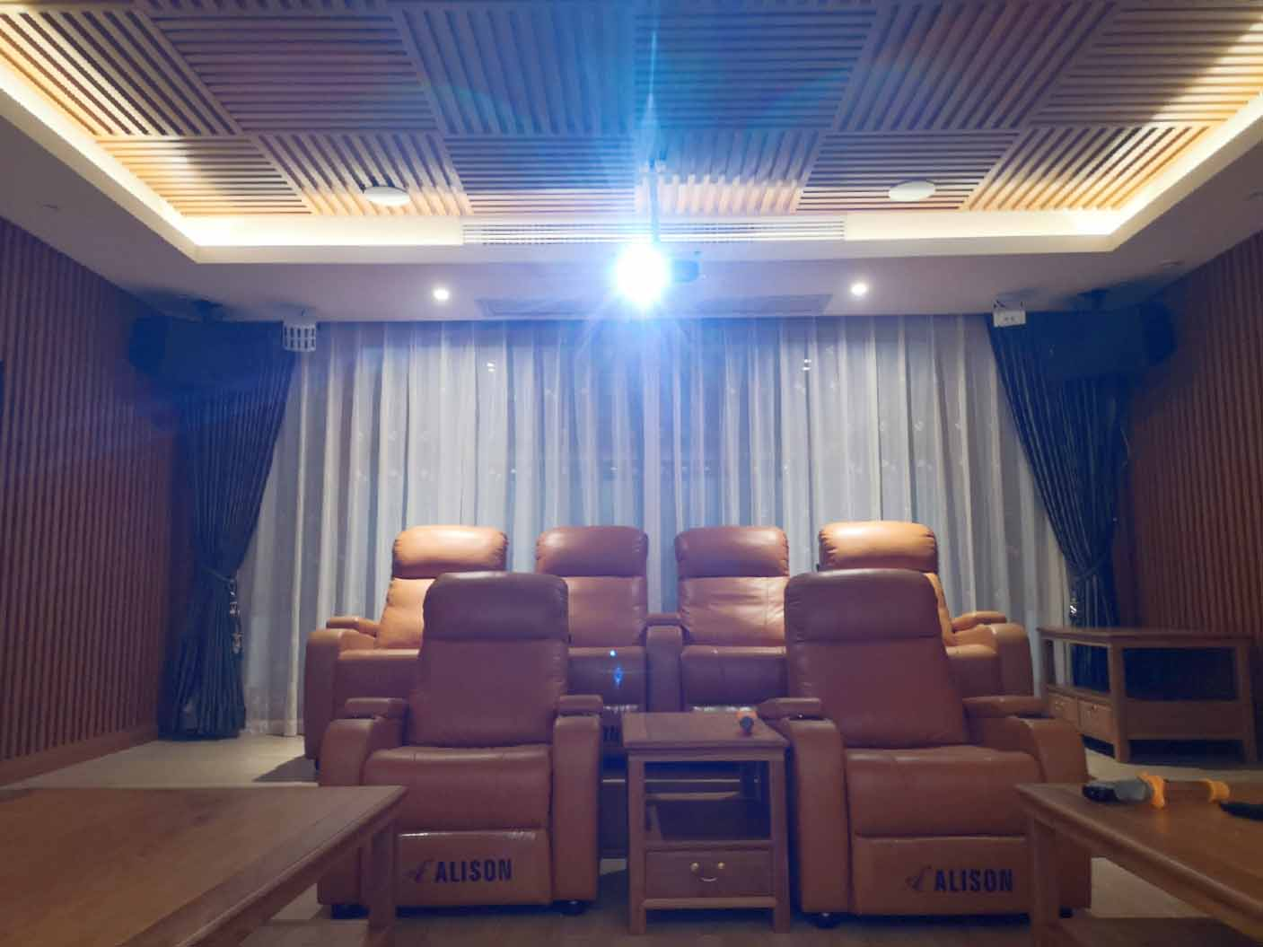 高清3D私家影院案例效果图