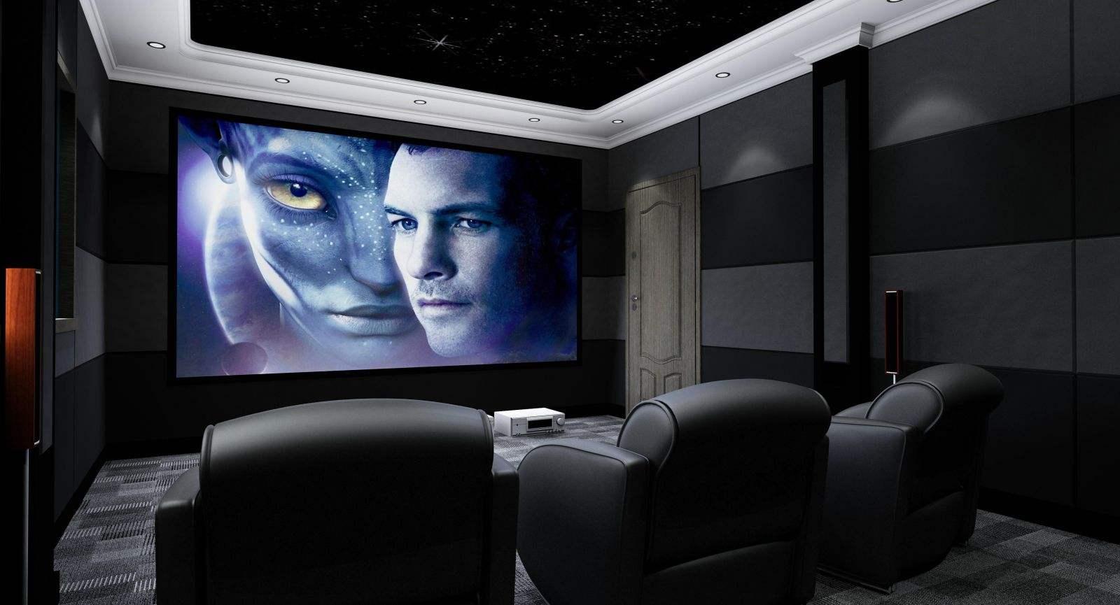 安装家庭影院