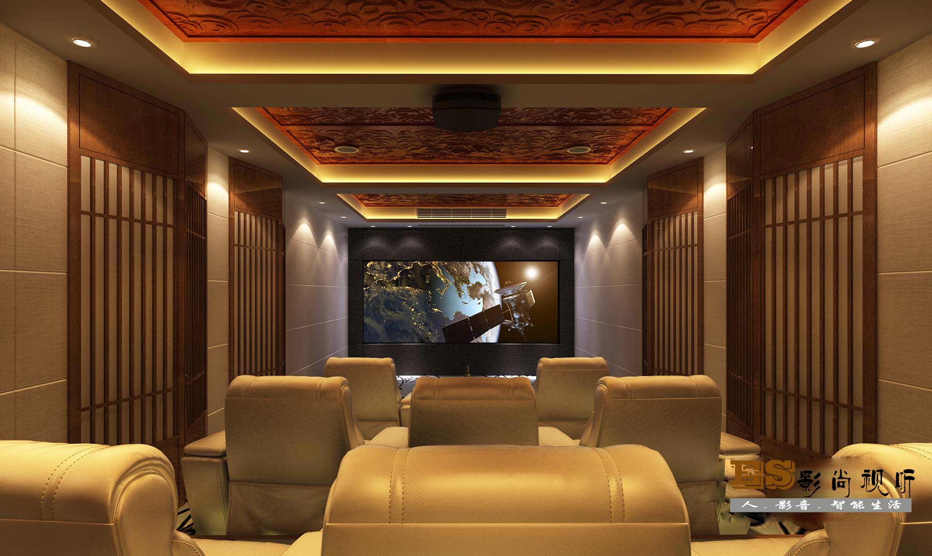 私人家庭影院装修设计方案