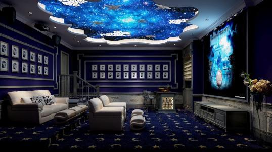 家庭影院影音室墙壁怎么装