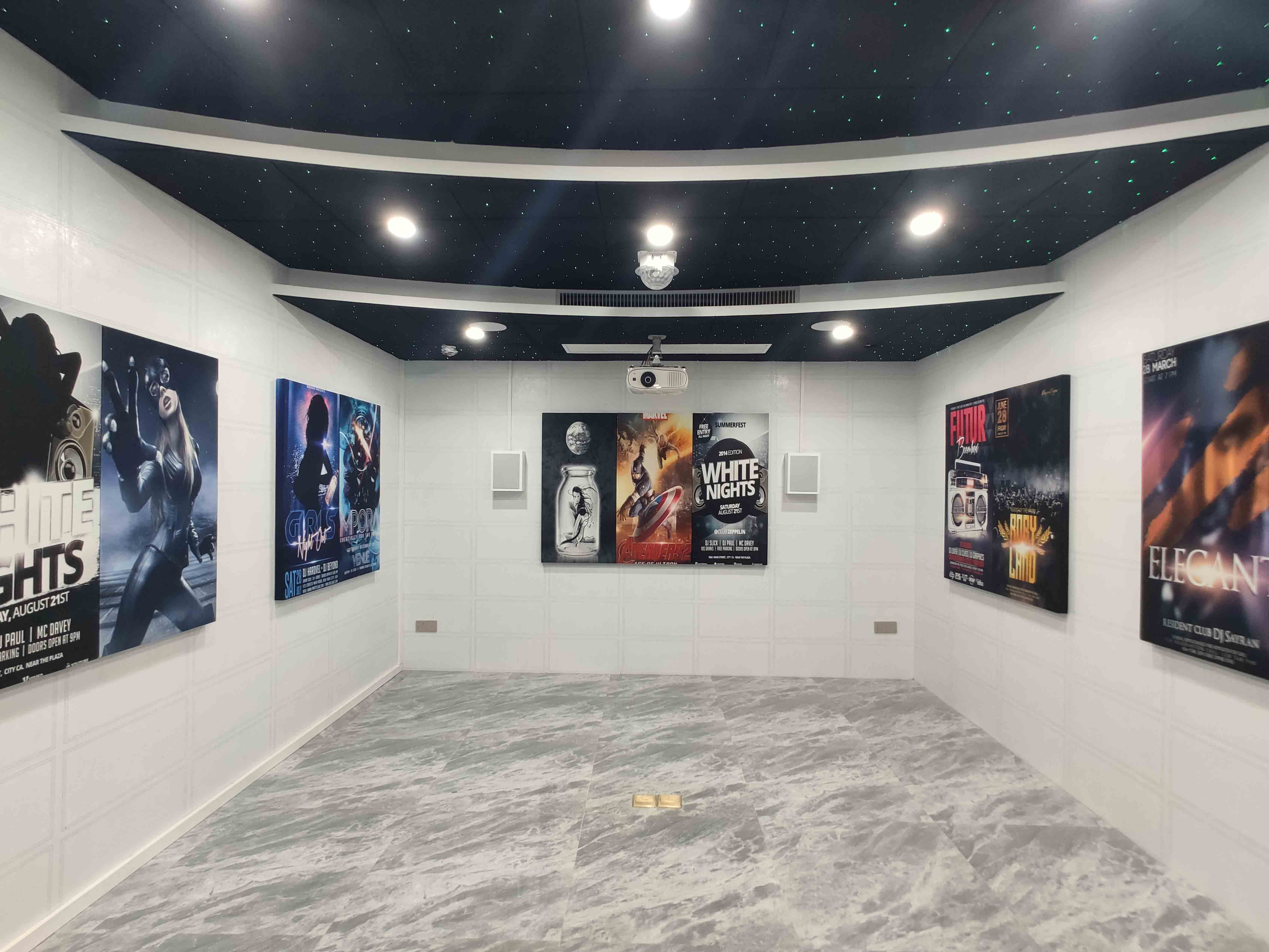 广州水悦龙湾家庭影院KTV案例装修设计解决方案