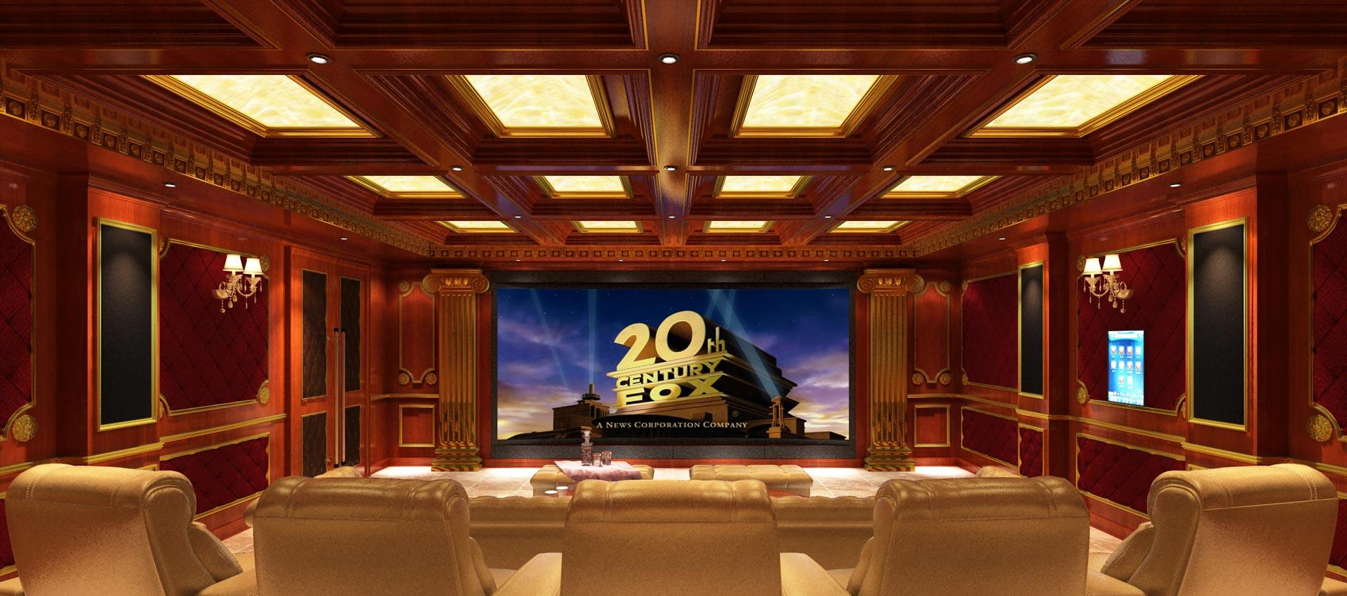 家庭影院怎么装修设计比较美观?家庭影院影音室美观设计规范