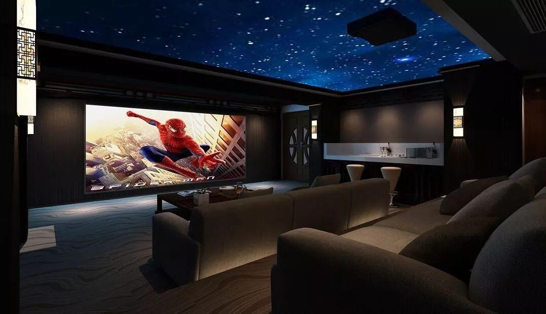 家庭影院房间比例